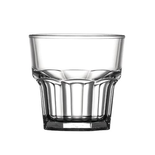 BBP Polycarbonate Whiskey Glass 207ml (Pack of 36)